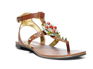 aztec print sandals